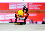 17 December 2010: Kimber Gabryszak sliding for the USA, finishes in 15th place at the Viessmann FIBT Skeleton World Cup Championships in Lake Placid, New York, USA. Mandatory Credit: Ed Wolfstein Photo