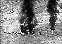 Bombing of an airfield during the Bombing of Chongqing during the Second Sino-Japanese War by Mitsubishi A6M Zero Fighters. (Photo by Kingendai PhotoLibrary/AFLO)