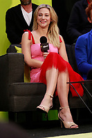 NEW YORK, NY - OCTOBER 7: Lili Reinhart at  SYFY WIRE's Fangirls: Riverdale Cast Interview at the Jacob Jackets Center at the 2018 New York Comic Con in New York City on October 7, 2018. <br /> CAP/MPI99<br /> &copy;MPI99/Capital Pictures