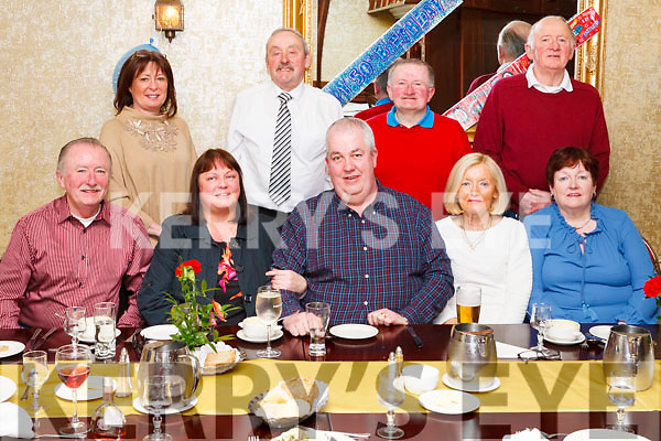 Michael Harnett from Kilconlea Upper , Abbeyfeale (seated centre ) celebrated his 50th. Birthday last Saturday in Leens Hotel Abbeyfeale.<br /> Seated : James Harnett (Cousin) , Dawn Harnett ( Michaels wife),  Michael, Nuala Duane( Aunt), Mair&eacute;ad Murphy (Aunt).<br /> Back: Eileen Harnett (Cousin), Tom Duane( Uncle) Dan Harnett ( Cousin)<br /> Phil Murphy( Uncle)