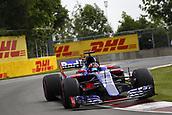 June 11th 2017, Circuit Gilles Villeneuve, Montreal Quebec, Canada; Formula One Grand Prix, Race Day. #26 Daniil Kvyat (RUS, Scuderia Toro Rosso),