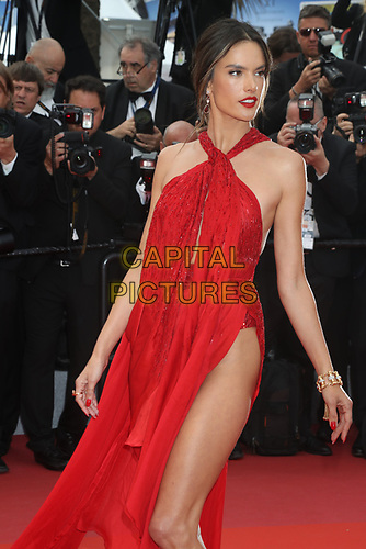 Alessandra Ambrosio attends the LES MISÉRABLES premiere -72nd annual Cannes Film Festival  Cannes France on May 15 2019.<br /> CAP/GOL<br /> ©GOL/Capital Pictures