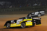 Sep 12, 2010; 12:16:09 AM; Rossburg, OH., USA; The 40th annual running of the World 100 Dirt Late Models racing for the Globe trophy at the Eldora Speedway.  Mandatory Credit: (thesportswire.net)