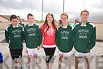 Competing in the 5k run in Valentia on Sunday for the All Ireland Rowing Regatta were l-r; Sean Scanlon, Alan Goggin, Katie Pierce, Stephen O'Sulllivan & Daniel Cronin.