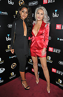 Marlie Lewis and Chyna Ellis at the Ultimate Boxxer III professional boxing tournament, indigO2 at The O2, Millennium Way, Greenwich, London, England, UK, on Friday 10th May 2019.<br /> CAP/CAN<br /> &copy;CAN/Capital Pictures