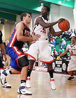 April 8, 2011 - Hampton, VA. USA; Derrick Randolph participates in the 2011 Elite Youth Basketball League at the Boo Williams Sports Complex. Photo/Andrew Shurtleff