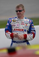 May 4, 2007; Richmond, VA, USA; Nascar Busch Series driver Jeff Burton (31) during qualifying for the Circuit City 250 at Richmond International Raceway. Mandatory Credit: Mark J. Rebilas