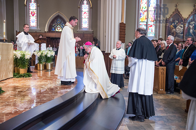 Apr. 11, 2015; 2015 Ordination (Photo by Barbara Johnston/University of Notre Dame)