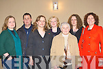 Mary Neeson, John Lyne, Veronica, Frances Neeson, Kathleen Lyne, Lorraine Neeson and Sinead Fagin at the Chernobyl table quiz in the Killarney Heights Hotel on Friday night