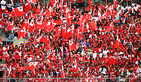 Tonga fans and supporters.<br /> England v Tonga, Semi-Final, Rugby League World Cup 2017. RLWC2017. Mt Smart Stadium, Auckland New Zealand. Saturday 25 November 2017 © Copyright Photo: Andrew Cornaga / www.Photosport.nz MANDATORY CREDIT/BYLINE : Andrew Cornaga/SWpix.com/PhotosportNZ