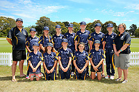Morrinsville Intermediate School after the National Primary School Cricket Cup at the Bert Sutcliffe Oval, Lincoln University, Christchurch, New Zealand. Saturday 25 November 2017. Photo: Martin Hunter/www.bwmedia.co.nz