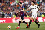 FC Barcelona's Leo Messi (l) and Valencia CF's Daniel Parejo during Spanish King's Cup Final match. May 25,2019. (ALTERPHOTOS/Carrusan)