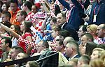 12.01.2018., Croatia, Spaladium Arena, Split - European Handball Championship, Group B, 1st Round, Croatia - Serbia.  Igor Stimac with son Ivan<br /> <br /> Foto &copy; nordphoto / Slavko Midzor/PIXSELL