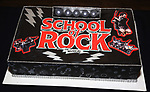The cake during the 'School of Rock' Celebrates Two Years on Broadway at the Brazen Tavern in New York City.