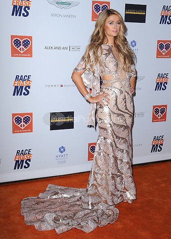 CENTURY CITY, CA - APRIL 24:  Paris Hilton at the 22nd Annual Race to Erase MS at the Hyatt Regency Century Plaza on April 24, 2014 in Beverly Hills, California. Credit: PGSK/MediaPunch