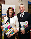 Geraldine Dolan, General manager and Jason Higgins from The Aghadoe Heights Hotel, Killarney pictured  at the National Tourism Forum in The Muckross Park Hotel, Killarney at the weekend. <br /> Over 200 delegates from all over Ireland attend the inaugural event which was addressed by national and international speakers.<br /> Photo: Don MacMonagle<br /> <br /> Repro free photo