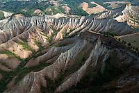 Valle dei Calanchi: mutamenti naturali a memoria d'uomo
