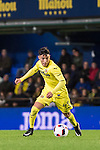 Leo Suarez (l) of Villarreal CF fights for the ball with Carlos Tornero López de Lerma of CD Toledo during their Copa del Rey 2016-17 match between Villarreal CF and CD Toledo at the Estadio El Madrigal on 20 December 2016 in Villarreal, Spain. Photo by Maria Jose Segovia Carmona / Power Sport Images