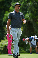 Bryson DeChambeau (USA) looks over the green on 7 during round 2 of the 2019 Charles Schwab Challenge, Colonial Country Club, Ft. Worth, Texas,  USA. 5/24/2019.<br /> Picture: Golffile   Ken Murray<br /> <br /> All photo usage must carry mandatory copyright credit (© Golffile   Ken Murray)