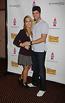 """One Life To Live's Kristen Alderson """"Starr Manning"""" and Nic Robuck attend the 25th Annual Broadway Flea Market & Grand Auction to benefit Broadway Cares/Equity Fights Aids on September 25, 2011 in New York CIty, New York.  (Photo by Sue Coflin/Max Photos)"""