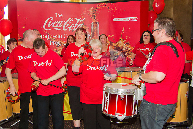 Drumatik! members perform..Picture: Shane Maguire / www.newsfile.ie.