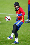 Spain's Jordi Alba during training session. March 23,2017.(ALTERPHOTOS/Acero)