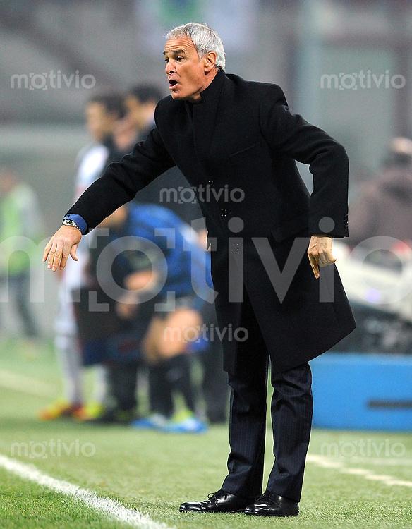 FUSSBALL INTERNATIONAL   SERIE A   SAISON 2011/2012    Inter Mailand - Udinese Calcio   03.12.2011 Trainer Claudio Ranieri (Inter Mailand)
