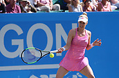 June 15th 2017, Nottingham, England; WTA Aegon Nottingham Open Tennis Tournament day 6;  Alison Riske of USA in action during her game against Magdalena Rybarikova of The Slovak Republic