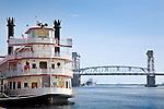 Riverboat at Wilmington, NC, USA
