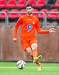***BETALBILD***  <br /> Solna 2015-07-25 Fotboll Superettan Athletic FC United - J&ouml;nk&ouml;pings S&ouml;dra IF :  <br /> Athletics Rabi Elia i aktion under matchen mellan Athletic FC United och J&ouml;nk&ouml;pings S&ouml;dra IF <br /> (Foto: Kenta J&ouml;nsson) Nyckelord:  Superettan Skytteholm Skytteholms IP AFC Athletic FC United J&ouml;nk&ouml;ping J-S&ouml;dra portr&auml;tt portrait