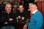 Johnnie Jein, TP McHugh and Chalkie White in McHughs...Photo NEWSFILE/Jenny Matthews..(Photo credit should read Jenny Matthews/NEWSFILE)