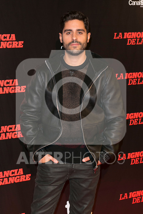 "Miguel Diosdado attends ""La Ignorancia de la Sangre"" Premiere at Capitol Cinema in Madrid, Spain. November 13, 2014. (ALTERPHOTOS/Carlos Dafonte)"