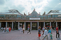 London: Covent Garden, 1987. Market Halls, Eastern Elevation.