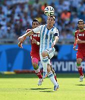 FUSSBALL WM 2014 VORRUNDE  Argentinien - Iran