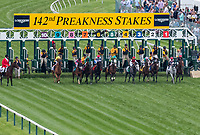BALTIMORE, MD - MAY 20: The field breaks from the gate at the start of the Longines Dixie Stakes on Preakness Stakes Day at Pimlico Race Course on May 20, 2017 in Baltimore, Maryland. World Approval  #2, ridden by Julien Leparoux, won the race. (Photo by Dan Heary/Eclipse Sportswire/Getty Images)