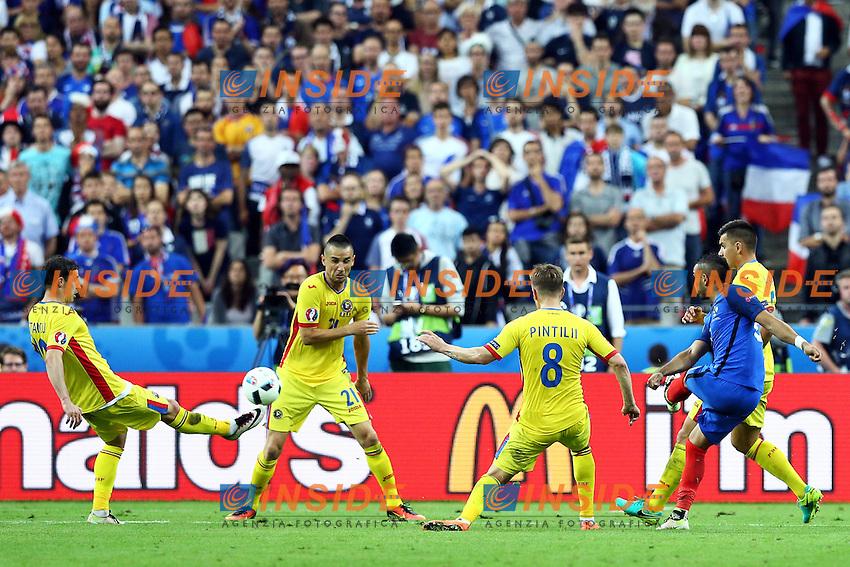 Gol Dimitri Payet Francia Goal celebration 2-1<br /> Paris 10-06-2016 Stade de France football Euro2016 France - Romania  / Francia - Romania Group Stage Group A. Foto Matteo Ciambelli / Insidefoto