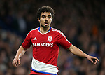 Middlesbrough's Fabio Da Silva in action during the Premier League match at Stamford Bridge Stadium, London. Picture date: May 8th, 2017. Pic credit should read: David Klein/Sportimage