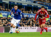 5th November 2017, Goodison Park, Liverpool, England; EPL Premier League Football, Everton versus Watford; Gylfi Sigurdsson of Everton goes past Jose Holebas of Watford