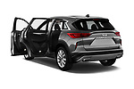 Car images close up view of a 2019 Infiniti QX50 LUXE AWD 5 Door SUV doors
