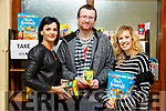 The Kerry College of Further Education are running a Take It Or Leave It food scheme to help all students who may need a little help. <br /> L-r, Mary Lucey (Principal), Eugene Guiney and Siobhan Cattermole.