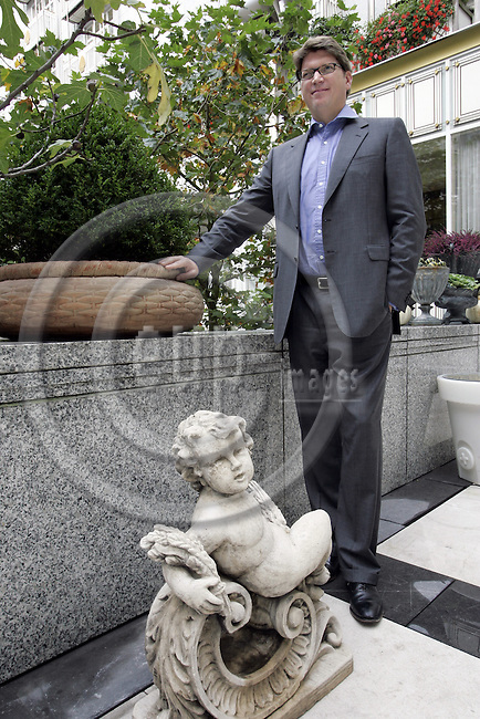 BRUSSELS - BELGIUM - 10 OCTOBER 2006 -- Niklas ZENNSTRÖM (Zennstrom), Chief Executive Officer and Co-founder, Skype Technologies SA. -- PHOTO: JUHA ROININEN / EUP-IMAGES