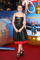 Madeleine Harris arriving for the Paddington film premiere, at Odeon Leicester Square, London. 23/11/2014 Picture by: Alexandra Glen / Featureflash