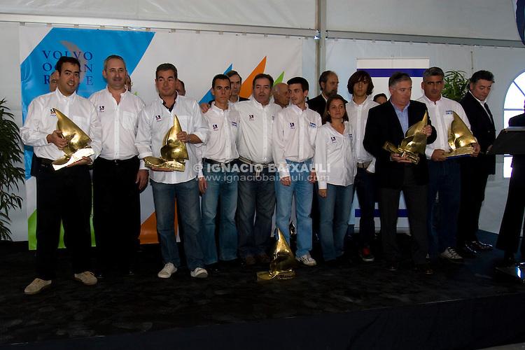 Gran Fiesta de la Vela de la Comunidad Valenciana. Real Club de Regatas de Alicante. Alicante. Comunidad Valenciana. España. 9/2/2008