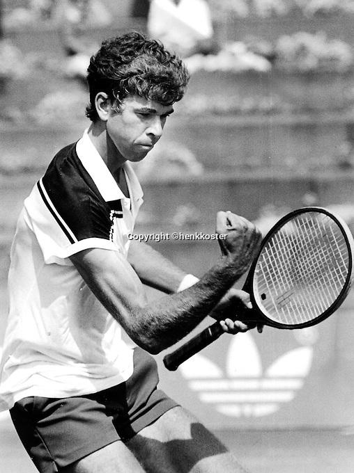 Tennis, aug, 1984, NK, Michiel Schapers