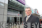 Derek Rusk manager of Manor West retail park outside the new Curry's PC world superstore.store