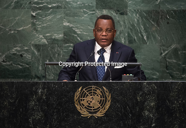 CONGO<br /> H.E. Jean Claude GAKOSSO Minister for Foreign Affairs and Cooperation<br /> General Assembly 70th session 25th plenary meeting<br /> Continuation of the General Debate