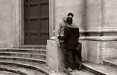 Lovers on Steps. photo by jane therese
