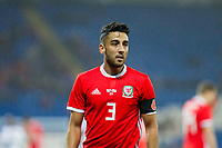 Neil Taylor of Wales during the International Friendly match between Wales and Panama at the Cardiff City Stadium, Cardiff, Wales on 14 November 2017. Photo by Mark Hawkins.