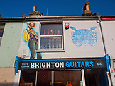 ENGLAND, Brighton Guitars Shop