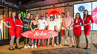 Gold Coast COOLANGATTA, Queensland/AUS (Sunday, March 18, 2018) - AirAsia and Australia's leading surfing bodies today announced a joint partnership that will see the World's Best Low Cost Carrier become surfing's Official Airline partner in Australia. <br /> The partnership was announced today to coincide with he WSL's Quiksilver and Roxy Pro Gold Coast events and was attended by AirAsia Group CEO Tony Fernandes, World Surf League CEO Sophie Goldschmidt and Surfing Australia CEO Andrew Stark.<br /> Photo: joliphotos.com